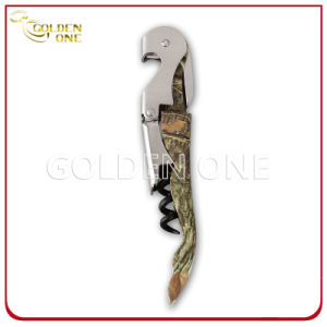 Factory Supply Wine Corkscrew with Durable Plastic Handle pictures & photos
