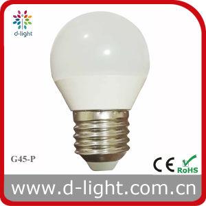 G45P E27 LED Bulb Light 3W with Ce RoHS