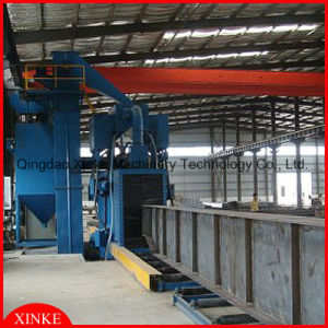 Automatic Roller Through Steel Structure Shot Blasting Descaling pictures & photos