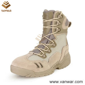 Breathable Military Desert Boots of Tan Desert Color (WDB039) pictures & photos
