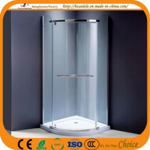 Low 6cm Tray Luxury Indoor Corner Shower Cabin (ADL-8030B) pictures & photos