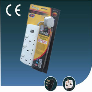 British Extension Electrical Socket with USB