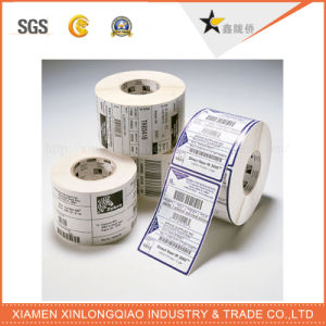 Custom Barcode Label Printing Thermal Transfer Paper Adhesive Printer Sticker pictures & photos