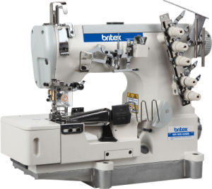 Br-500-02bb High Speed Flat Bed Interlock with Tape Binding (edge rolling) pictures & photos