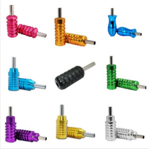 Durable Various Colorful Aluminium Tube Style Tattoo Grip pictures & photos