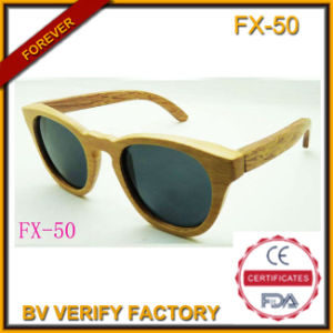 Bamboo and Wooden Frame Sunglasses (FX50) pictures & photos