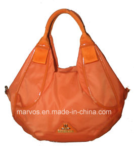 Fashion Ladies′ Leather Tote Bag (M10601) pictures & photos