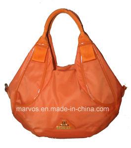 Fashion Ladies′ Leather Tote Bag (M10601)
