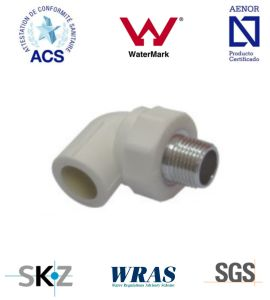 PPR Fitting - Pipe Fitting (Male Elbow) pictures & photos