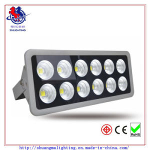 60 Degree Beam Angle LED 600W Flood Light with IP65 Waterproof