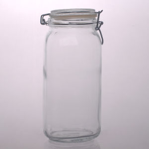 Airtight Food Storage Jar Glass pictures & photos