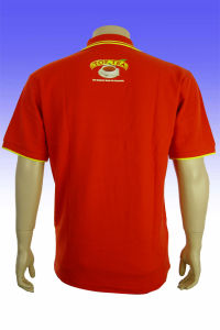 2016 Wholesale Cheap Fashion Polyester Men′s Red T Shirts pictures & photos