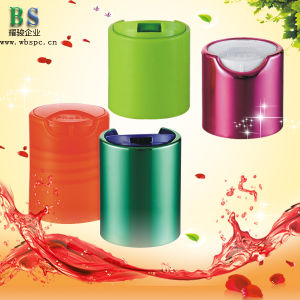 Plastic Disc Top Cap for Shampoo Bottle pictures & photos