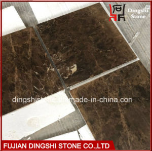 Natural Marble Dark Emperador Marble Tile for Flooring/Wall Tiles pictures & photos