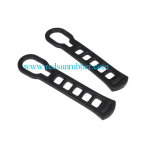 Custom Adjustable Silicone Rubber Tie-Down Strap pictures & photos