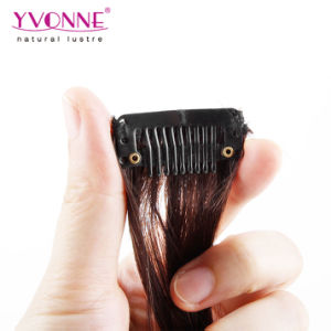 100% Brazilian Human Hair Clip in Hair Extensions pictures & photos