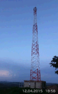 60m Triangular Steel Tower for Reime Tanzania