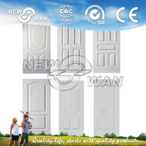 Cheap Interior White HDF Moulded Door Skin (NWD-1001) pictures & photos