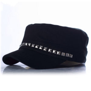 Punk Street Fashion Army Reviot Military Lady Cap pictures & photos