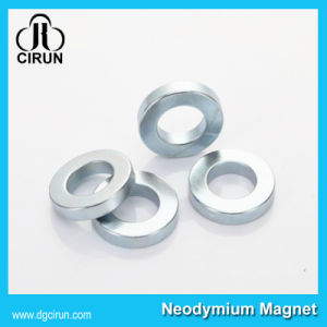 Custom Sintered Neodymium Iron Boron Ring Magnets pictures & photos