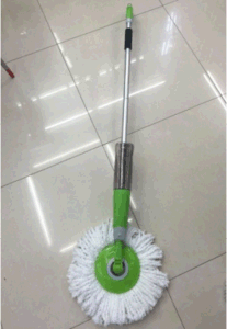 New Shape Microfiber Yarn Spray Mop Set pictures & photos