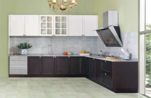 High-Quality Solid Wood Oak Kitchen Cabinet