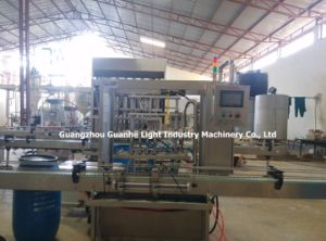 Automatic Glass Cleaner Filling Machine with Capping System pictures & photos