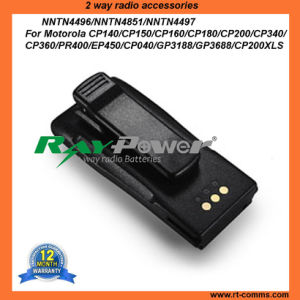 Recharge Battery Pack Nntn4970 Li-ion 1800mAh for Motorola Cp040 pictures & photos