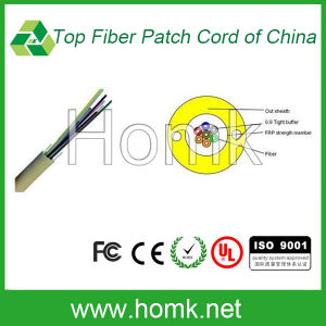 Non-Metal Central Tight Tube out Indoor Fiber Cable pictures & photos