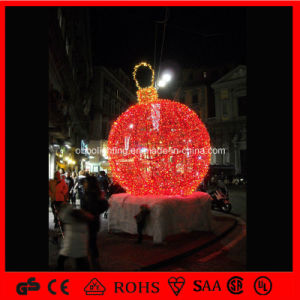 China holiday lighting led ball light outdoor large for Outdoor christmas balls that light up