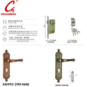 New Design Zinc Pull Handle with Pattern pictures & photos