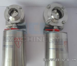 Stainless Steel Pneumatic Clamped Butterfly Valves (ACE-DF-Y6) pictures & photos