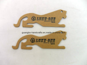 Customized Promotion Gift Badge Leopard Label Hang Tags Design (SA-543) pictures & photos