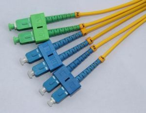 Y Type-2SC/APC-4SC/UPC SM 9/125 DX 3.0mm Fiber