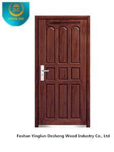 European Style Security Door Without Glass for Entrance (B-6035) pictures & photos