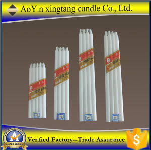 Paraffin Wax White Church Candle Pray Candles to West Africa pictures & photos