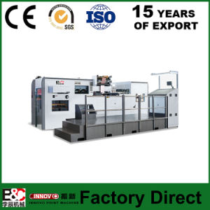 Zxtj800 Automatic Hot Foil Stamping & Die Cutting Machine Price pictures & photos