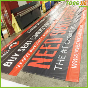 Outdoor Advertising Vinyl Banner with Eyelets pictures & photos
