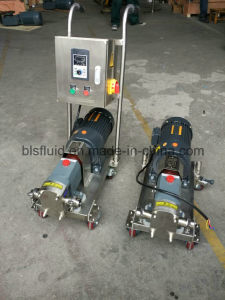 Stainless Steel L&B Sanitary Beverages Transfer Pumps with Trolley pictures & photos