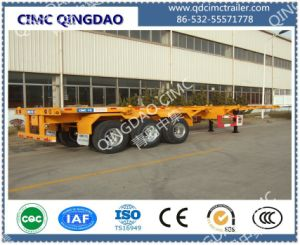 3 Axle Container Chassis Skeleton Semi Trailer Truck pictures & photos