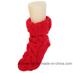 OEM Factory Wholesale Hand Knit Indoor Floor Ankle Socks Stocking pictures & photos
