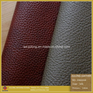 Lichee Semi-PU Synthetic Leather &  Fabric  for  Sofa &Sofa  Fabric (SFB019) pictures & photos