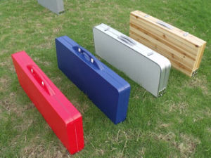 Outdoor Folding Picnic Table with Plastic Chair pictures & photos