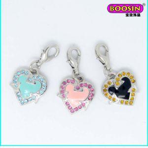 China Promotional Fancy Heart Enamel Necklace Pendant pictures & photos