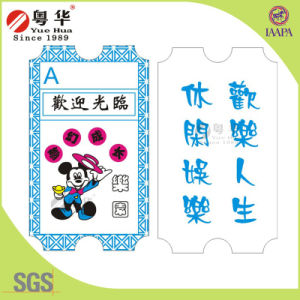 Customize Paper Lottery Tickets/Custom Lottery Ticket for Arcade Game Machine pictures & photos