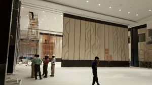 Acoustic Movable Partition Wall Systems for Multi-Purpose Hall pictures & photos