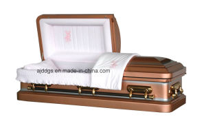 American Style Metal Casket (18048157) pictures & photos