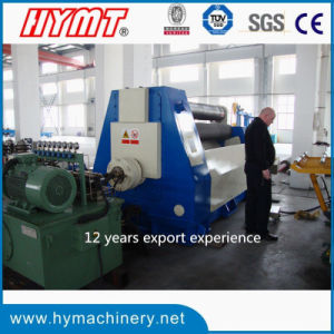 W11H-20X3200 hydraulic 3 Rollers Arc-Adjust Plate Bending Rolling Machine pictures & photos