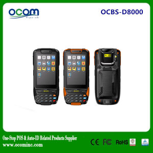 Portable Android Industrial PDA Barcode Laser Scanner (OCBS-D8000) pictures & photos