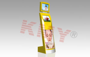 Interactive Dual Screen Display Kiosk Machine pictures & photos